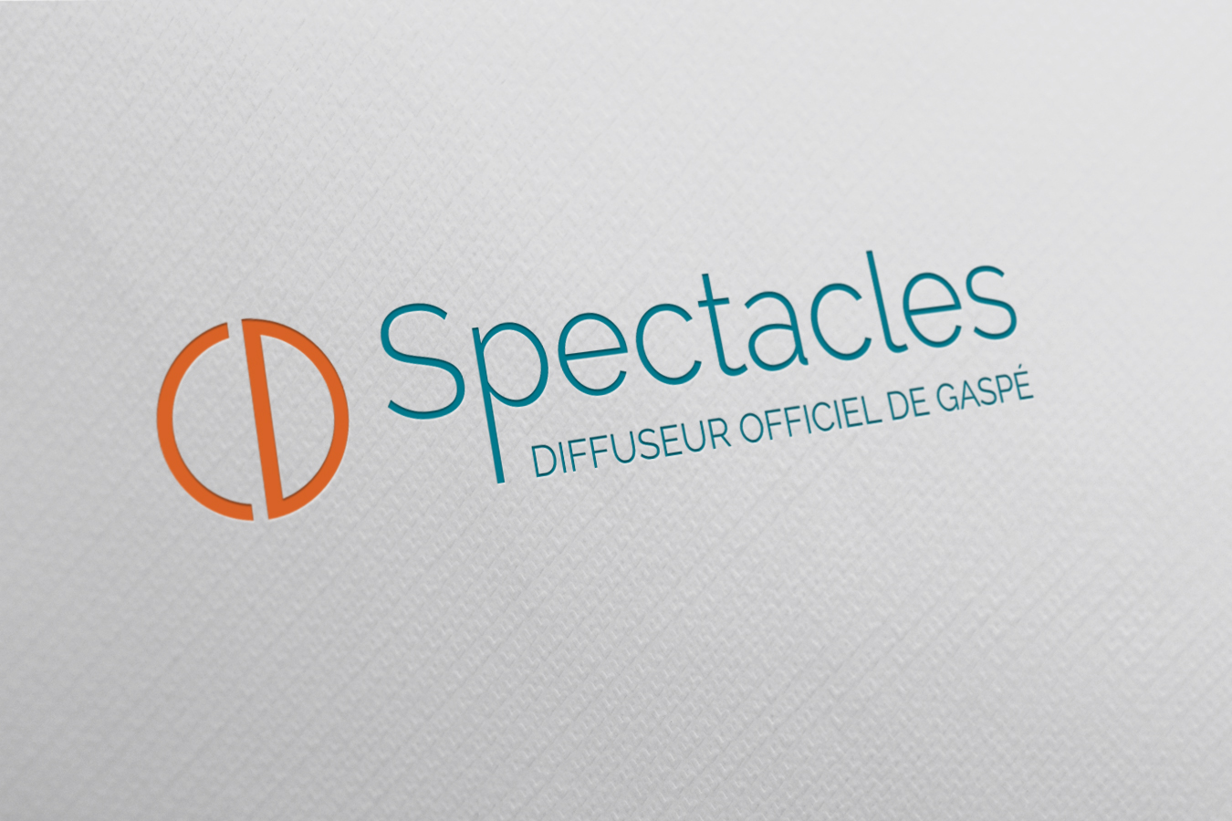 logo de CD Spectacles, réalisé par le Web simple